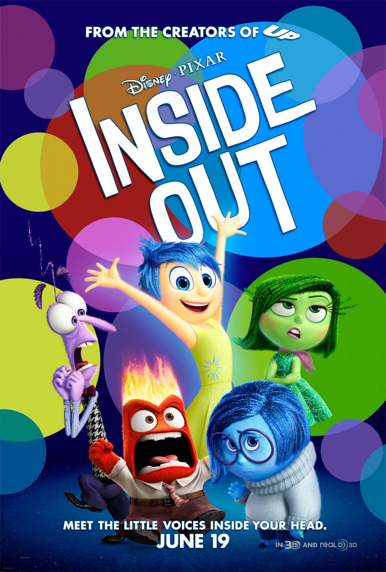 Movie Review – Inside Out (2015)
